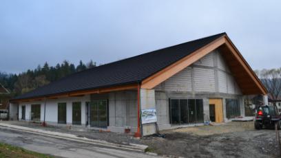 Zdjęcie z budowy kościoła